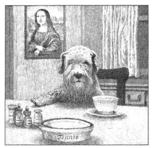 Maurice Sendak's illustration of his beloved dog, Jenny