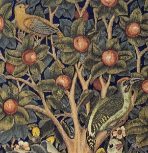 Native birds in William Morris's Tree of Life