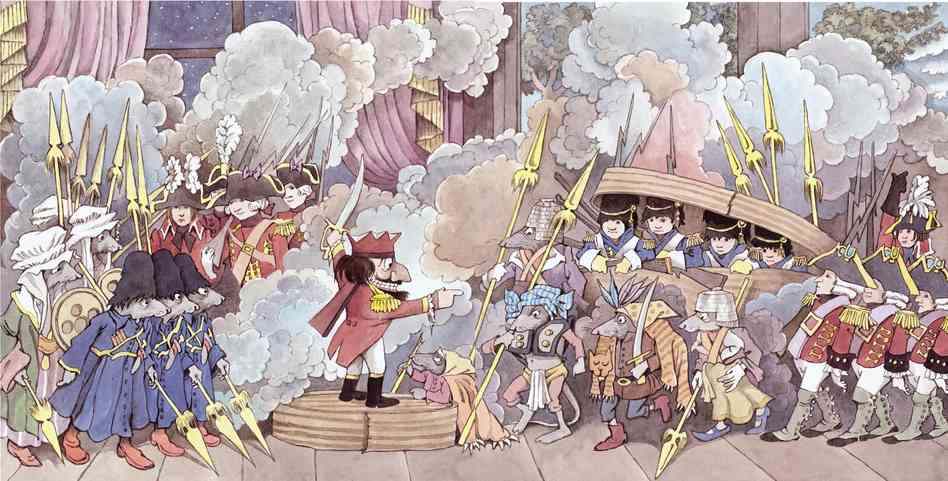An illustration from one of my favorite Maurice Sendak productions: The Nutcracker.